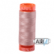 Aurifil 50 Cotton Thread - 2375 (Antique Blush)